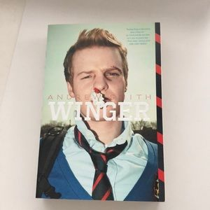 Book by Andrew Smith - Winger